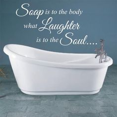 Soak away the day. Sweet dreams.