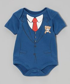 Take+a+look+at+the+Wild+Child+Royal+Three-Piece+Suit+Bodysuit+-+Infant+on+#zulily+today!