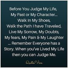 Image result for dont judge quotes