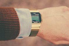 Gold Timex Watch