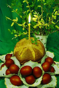 "Photo from album ""Пасха. Easter Egg Crafts, Easter Eggs, Caramel Apples, Belle Photo, Happy Easter, Coconut, Fruit, Animated Gif, Image"