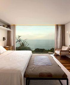 Brazilian House Rises Above The Landscape To Enjoy the Ocean Views