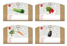 Packaging: HEMA Grow Your Own.  This is cool looking seed packaging.  Would definitely stand out IMPDO.