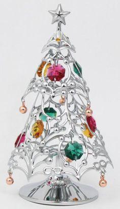 Weihnachtsbaum Christbaum Künstlicher Tannenbaum(s) MADE WITH SWAROVSKI ELEMENTS - premium-kristall