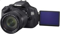 If I could afford a DSLR, this would be my dream model! Canon's 600D has everything I want and need!