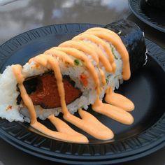 2012 Food and Wine. Spicy Tuna Handroll.