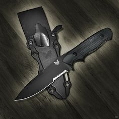 Benchmade 140SBK Nimravus, via Flickr.