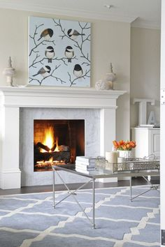 9 Resourceful Cool Tricks: Slate Fireplace With Shiplap cabin fireplace outdoor.Fireplace Art Dream Homes fireplace living room luxury.Fireplace Art Dream Homes. Fireplace Tile Surround, Wooden Fireplace, Marble Fireplaces, Fireplace Wall, Living Room With Fireplace, Fireplace Surrounds, Fireplace Design, Living Room Decor, Wall Fireplaces