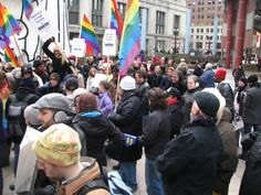 Marriage Equality Supporters Rally in Chicago - Article