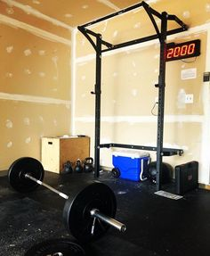 Ce rohs led crossfit digit wall remote garage gym interval