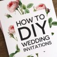 DIY Wedding Invitations: Everything You Need To Know