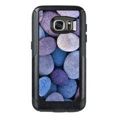 #fishing - #Purple Koi Fish Pond Pebbles OtterBox Samsung Galaxy S7 Case