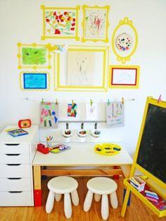 Inventive Ways to Display Your Kids' Art | Good Housekeeping