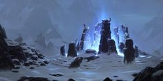 Wyrding Stones Video Game Legends of Runeterra Freljord (League Of Legends) Wallpaper Environment Concept, Environment Design, Winter Background, Background Images, League Of Legends Map, Fantasy Setting, Fantasy Landscape, Landscape Art, Environmental Art