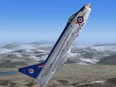 RAF English Electric Lightning Pilot Hale climbed to ft in his Lightning In Concorde was offered as a target to NATO fighters including Mirages, - but only Lightning was able to overtake from the rear. Climb: in 3 minutes. Air Force Aircraft, Navy Aircraft, Fighter Aircraft, Fighter Jets, Air Fighter, Military Jets, Military Aircraft, V Force, War Jet