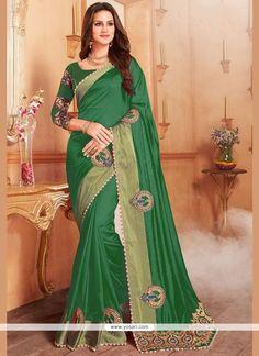 Banglori Silk Green Designer Traditional Saree