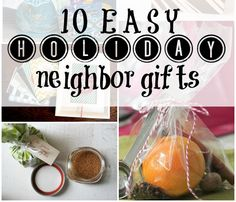Ten thoughtful ways to remember your neighbors this holiday season.