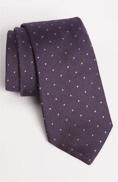 John W. Nordstrom® Woven Silk Tie   Nordstrom