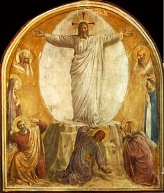 Fra Angelico  (1400-1455)  Transfiguration of Our Lord