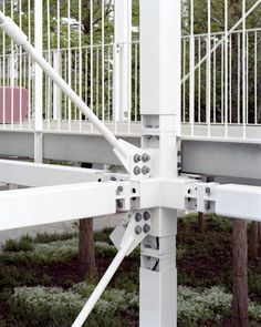 inessa hansch extends luxembourg campus within derectict steel mill Steel Structure Buildings, Metal Structure, Steel Bridge, Steel Mill, Casas Containers, Steel Frame Construction, Steel Detail, Architecture Details, Concept Architecture