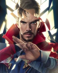 amazing artwork by #YinYuming #DoctorStrange #cumberpimp #cumberporn #BenedictCumberbatch #marvel #art #fanart #marvelart