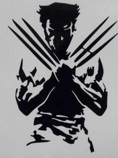 Wolverine Silhouette X Men Vinyl Decal Sticker BallzBeatz . Wolverine Tattoo, Wolverine Art, Logan Wolverine, Logan Xmen, Punisher Tattoo, Marvel Art, Marvel Comics, X Men, Arte Game Of Thrones