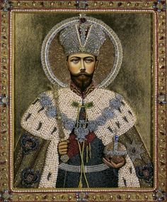 Religious Pictures, Tsar Nicholas Ii, Orthodox Icons, Madonna, Museum, Embroidery, Portrait, Collection, Russia