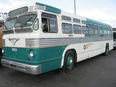 1954 FLXIBLE VIA TRANSIT RETIRED BUS by SA Transit Fan, via Flickr