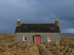 The lonely island: abandoned houses of the Hebrides – in pictures