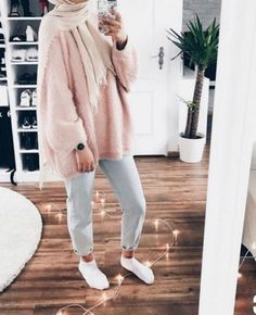 Uni Outfits, Casual Winter Outfits, Fall Outfits, Modest Fashion, Hijab Fashion, English Clothes, Moslem Fashion, Modern Hijab, Hijab Outfit