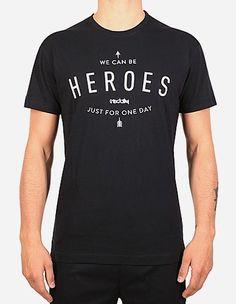 iriedaily - Heroes Tee black
