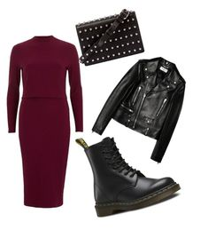 """""""Outfit 16"""" by caroline-gueran on Polyvore featuring mode, River Island, Dr. Martens, Yves Saint Laurent et Alexander Wang"""