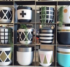 Love these pots by the design twins