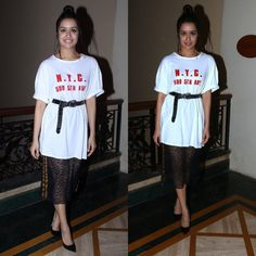 "Shraddha Kapoor at ""Haseena Parkar"" Promotions in Mumbai"