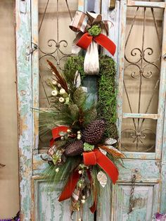 Excited to share this item from my shop: Christmas Wreaths, Christmas Door Decor, Magnolia Christmas Wreath Christmas Tree Decorating Tips, Beautiful Christmas Decorations, Christmas On A Budget, Wooden Christmas Trees, Christmas Door Decorations, Christmas Design, Christmas Ornaments, Christmas Ideas, Holiday Ideas