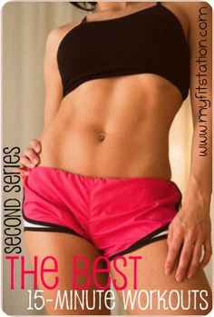 The Best 15 minute workout part 2!  More Free Printable Workouts: www.mufitstation.com