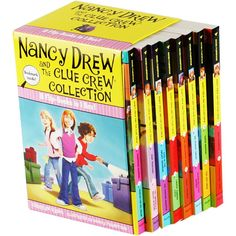 Nancy Drew and The Clue Crew Collection: 8 Book Box Set by Carolyn Keene