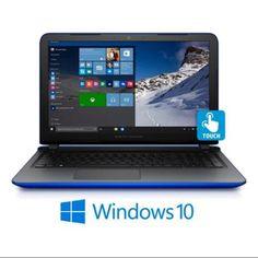 "Refurbished HP Pavilion 17.3"" Touchscreen Intel Core i3-6100U Laptop (Cobalt Blue, Refurbished)"