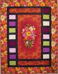 Image result for quilts made with center panel