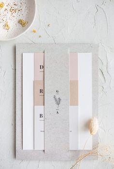 wedding invitations design collection LMAPN x My Dear Paper Blank Wedding Invitations, Wedding Invitation Design, Wedding Stationary, Invites, Graphic Design Invitation, Wedding Branding, Event Invitations, Wedding Paper, Diy Wedding