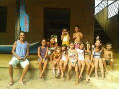 Oficina de colagem Comunidade Bonete, Ilhabela/SP