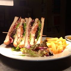 If you're out for a bite to eat today why not join us for our classic Chicken Club Sandwich for just £5.25!