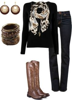 love the neutral colors...great fall outfit!