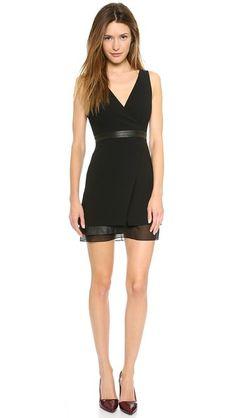 Funeral attire.  alice + olivia Brice Layered Dress   Pretty Little Liars