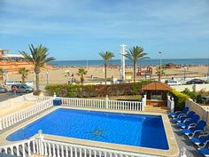 Sleep to the sound of waves - frontline beach villa Pool & hot tubHoliday Rental in La Zenia from @HomeAwayUK #holiday #rental #travel #homeaway