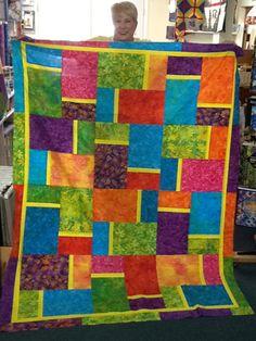 Untitled : big and bold quilt pattern - Adamdwight.com