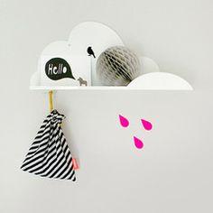 Shelf . Cloud with Hook