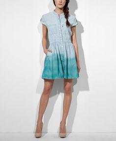 Dip Dye Weekend Dress - Spring Blue - Levi#39;s - levi.com