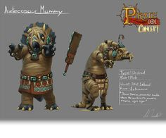 These Aztecosaur Mummies are powerful creatures preserved from an ancient civilization.