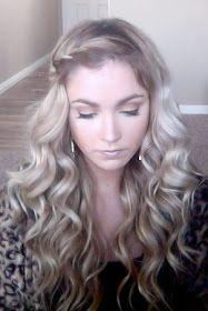 CARA LOREN: Tutorials This is want I always wanted my hair took like,. but then Icut my hair off. Ombré Hair, Hair Dos, Her Hair, Braid Hair, Hair Weft, Braid Bangs, Love Hair, Great Hair, Gorgeous Hair